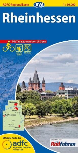 Abbildung von ADFC-Regionalkarte Rheinhessen 1 : 50 000 | 1., Auflage | 2015