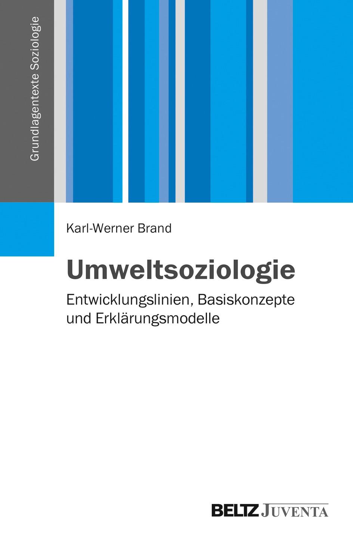 Umweltsoziologie   Brand, 2014   Buch (Cover)