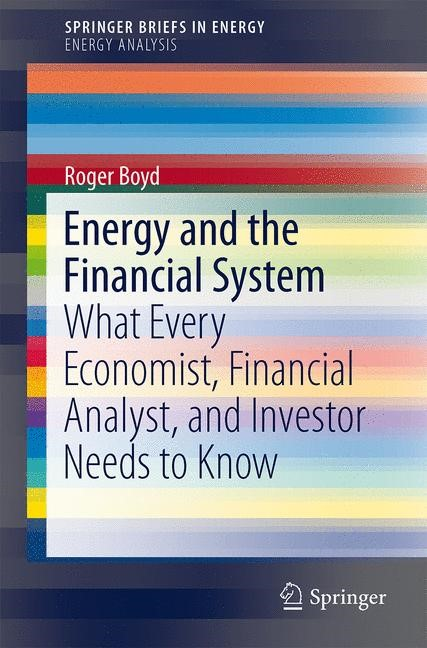 Energy and the Financial System | Boyd, 2014 | Buch (Cover)