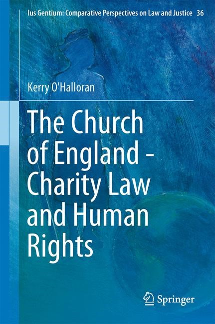 The Church of England - Charity Law and Human Rights | O'Halloran, 2014 | Buch (Cover)