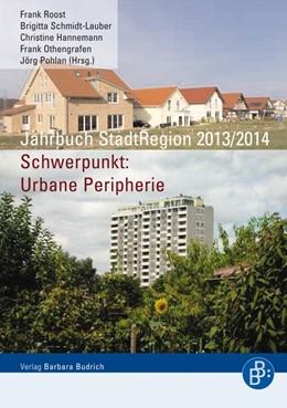 Abbildung von Roost / Schmidt-Lauber | Jahrbuch StadtRegion 2013/2014 | 1. Auflage | 2014 | beck-shop.de