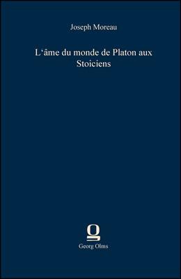 Abbildung von Moreau | L'âme du monde de Platon aux Stoiciens | 2013