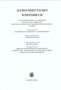 Abbildung von Schmid | Band VI: M–N. 10. Lieferung (mit bis mor(a)beri) | 2013