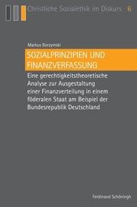 Sozialprinzipien und Finanzverfassung | Borzymski | 1. Aufl. 2014, 2014 | Buch (Cover)
