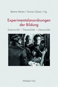 Abbildung von Menke / Glaser   Experimentalanordnungen der Bildung   1. Aufl. 2014   2014