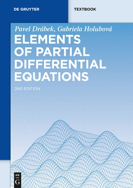 Abbildung von Drábek / Holubová   Elements of Partial Differential Equations   2nd revised and extended edition   2014