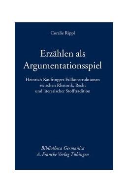 Abbildung von Rippl | Erzählen als Argumentationsspiel | 2014 | Heinrich Kaufringers Fallkonst... | 61