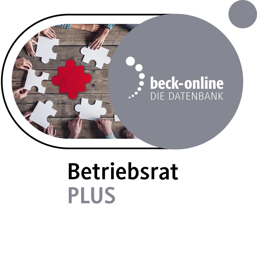 beck-online. Betriebsrat PLUS, 2014 (Cover)