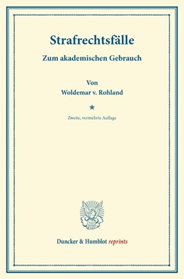 Abbildung von Rohland | Strafrechtsfälle. | 2. Auflage | 2013 | beck-shop.de