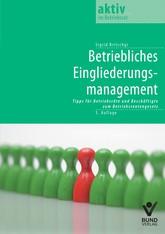 Betriebliches Eingliederungsmanagement | Britschgi | 3., aktualisierte Auflage, 2014 | Buch (Cover)