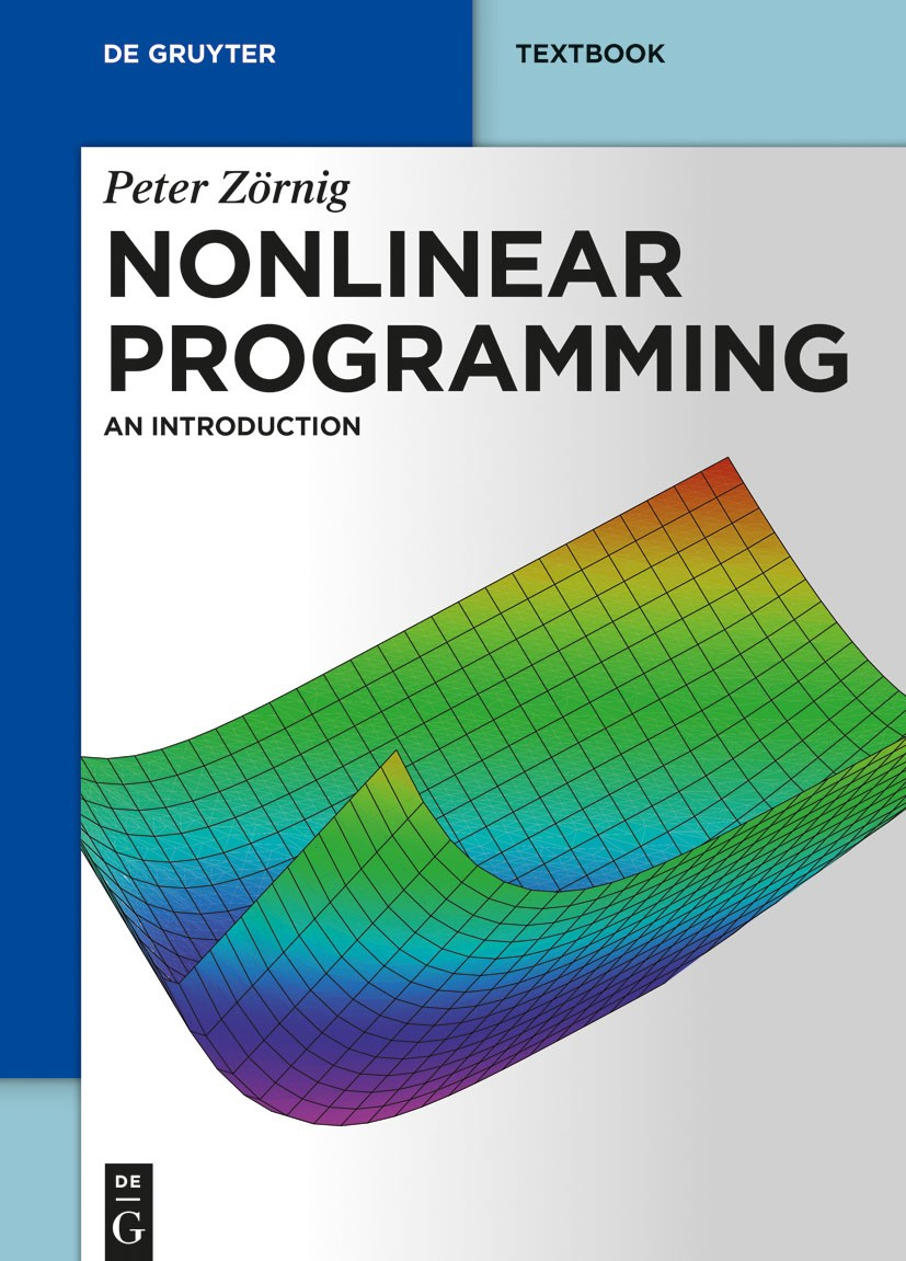 Nonlinear Programming   Zörnig, 2019   Buch (Cover)