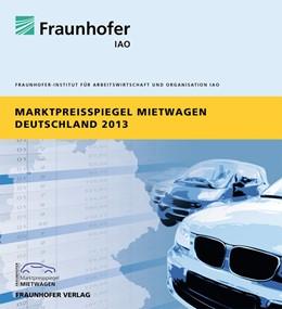 Abbildung von Marktpreisspiegel Mietwagen Deutschland 2013.   2013