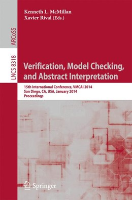Abbildung von McMillan / Rival | Verification, Model Checking, and Abstract Interpretation | 2014 | 15th International Conference,...