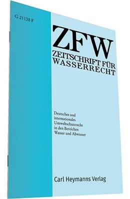 Abbildung von Zeitschrift für Wasserrecht - ZFW   59. Jahrgang   2020