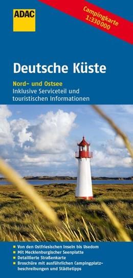 Abbildung von ADAC Campingkarte Deutsche Küste 1 : 330 000 | 4. Auflage | 2014