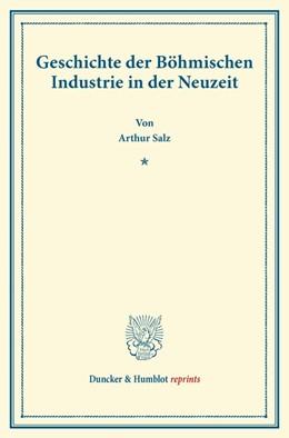 Abbildung von Salz | Geschichte der Böhmischen Industrie in der Neuzeit. | 2013