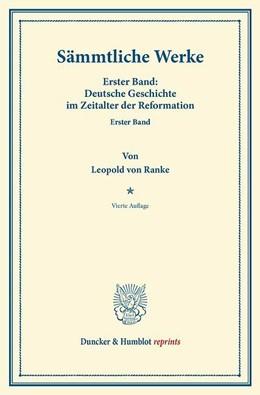 Abbildung von Ranke | Sämmtliche Werke. | 2013 | 54 Bände.