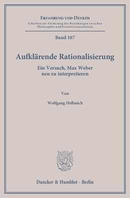 Abbildung von Hellmich | Aufklärende Rationalisierung | 1. Auflage | 2014 | 107 | beck-shop.de