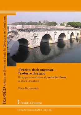 Abbildung von Ruzzenenti | «Präzise, doch ungenau» - Tradurre il saggio | 1. Auflage | 2013 | beck-shop.de