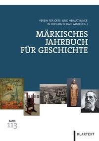 Märkisches Jahrbuch für Geschichte 113 | / Thier / Pätzold / Priester / Schmidt-Rutsch, 2014 | Buch (Cover)