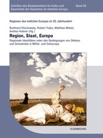 Region, Staat, Europa | Olschowsky / Traba / Weber / Huterer, 2014 | Buch (Cover)
