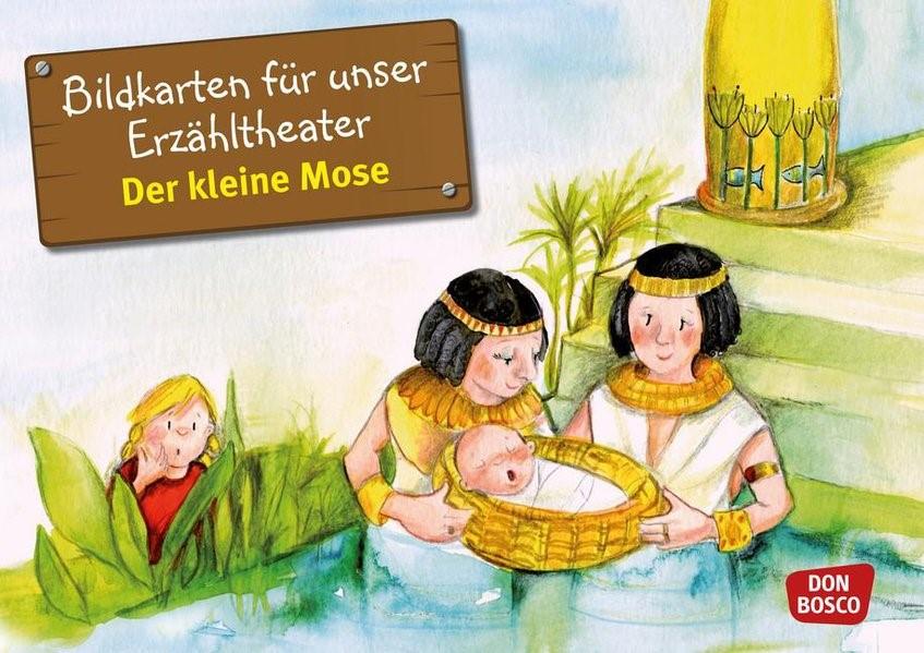 Der kleine Mose. Kamishibai Bildkartenset. | Brandt / Nommensen | Nachdruck, 2018 (Cover)