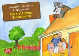 Abbildung von Bildkarten für unser Erzähltheater: Die drei kleinen Schweinchen | 1. Auflage | 2014 | beck-shop.de