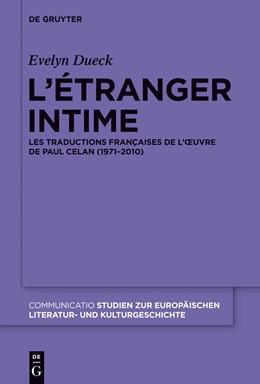 Abbildung von Dueck | L'étranger intime | 1. Auflage | 2014 | beck-shop.de