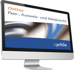 Abbildung von Pass-, Ausweis- und Melderecht • Online | 1. Auflage | | beck-shop.de