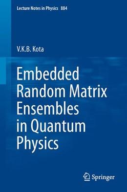 Abbildung von Kota | Embedded Random Matrix Ensembles in Quantum Physics | 2014 | 884