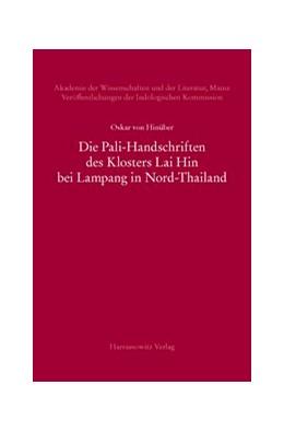 Abbildung von Hinüber | Die Pali-Handschriften des Klosters Lai Hin bei Lampang in Nord-Thailand | 2013 | 2