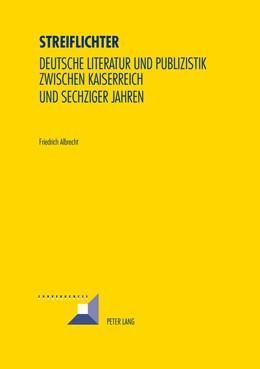 Abbildung von Albrecht | Streiflichter | 2014 | Deutsche Literatur und Publizi... | 79