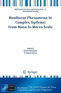 Abbildung von Matrasulov / Stanley | Nonlinear Phenomena in Complex Systems: From Nano to Macro Scale | 2014