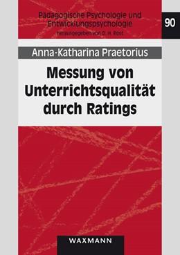Abbildung von Praetorius | Messung von Unterrichtsqualität durch Ratings | 2013 | 90