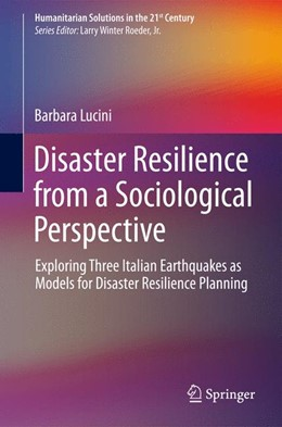 Abbildung von Lucini | Disaster Resilience from a Sociological Perspective | 1. Auflage | 2014 | beck-shop.de