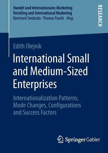 International Small and Medium-Sized Enterprises | Olejnik | 1. Auflage 2014, 2014 | Buch (Cover)