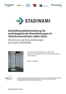 Abbildung von Schöpe / Blind | Geschäftsmodellentwicklung für wohnbegleitende Dienstleistungen im Technikunterstützten Leben (AAL). | 1. Auflage | 2013 | beck-shop.de