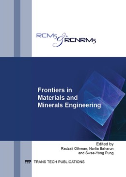 Abbildung von Othman / Baharun | Frontiers in Materials and Minerals Engineering | 1. Auflage | 2014 | Volume 858 | beck-shop.de