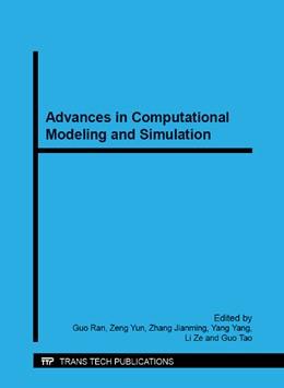 Abbildung von Guo / Zeng | Advances in Computational Modeling and Simulation | 1. Auflage | 2014 | Volumes 444-445 | beck-shop.de