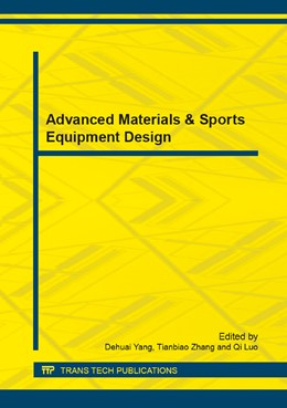 Abbildung von Yang / Zhang / Luo | Advanced Materials & Sports Equipment Design | 2014 | Selected, peer reviewed papers... | Volume 440