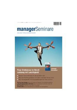Abbildung von managerSeminare | 31. Jahrgang | 2020 | Das Weiterbildungsmagazin