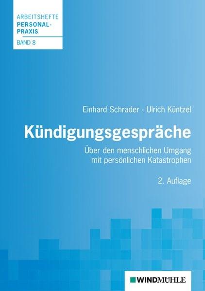 Kündigungsgespräche | Schrader / Küntzel | 2. Auflage., 2014 | Buch (Cover)