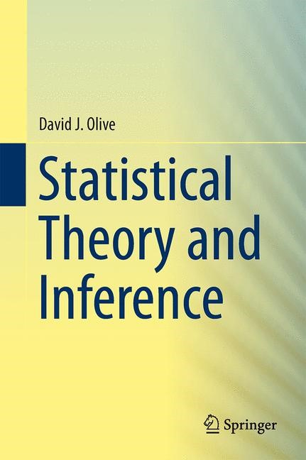 Statistical Theory and Inference | Olive, 2014 | Buch (Cover)