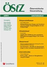 ÖStZ - Österreichische Steuerzeitung | 71. Jahrgang, 2014 (Cover)