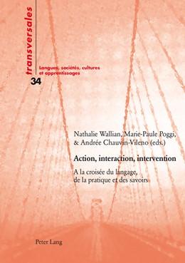Abbildung von Wallian / Poggi-Combaz   Action, interaction, intervention   1. Auflage   2014   34   beck-shop.de