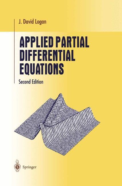 Abbildung von Logan | Applied Partial Differential Equations | 2004