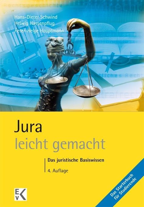 Jura - leicht gemacht | Hauptmann | 4., überarbeitete Auflage. 2014, 2014 | Buch (Cover)