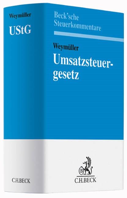 Umsatzsteuergesetz: UStG   Weymüller, 2014   Buch (Cover)