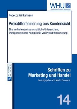 Abbildung von Winkelmann | Preisdifferenzierung aus Kundensicht | 2014 | Eine verhaltenswissenschaftlic... | 14