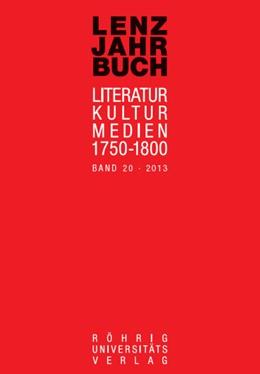 Abbildung von Roßbach / Martin | Lenz-Jahrbuch 20 (2013) | 1. Auflage | 2014 | beck-shop.de